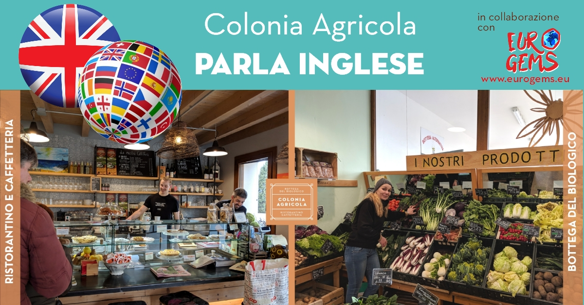 Colonia Agricola parla inglese