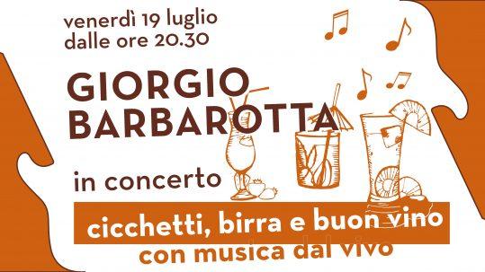 Giorgio Barbarotta copertina