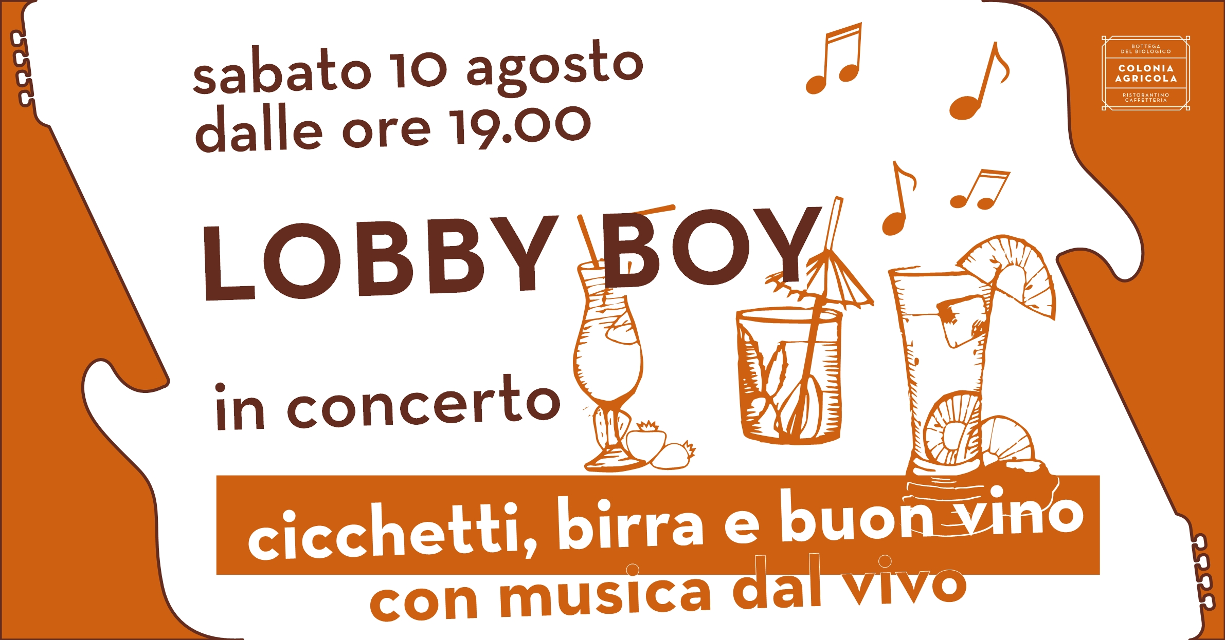 Lobby Boy in concerto