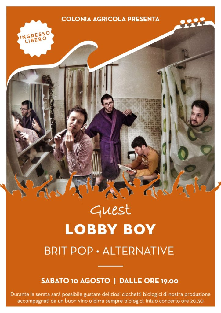 Lobby Boy fronte