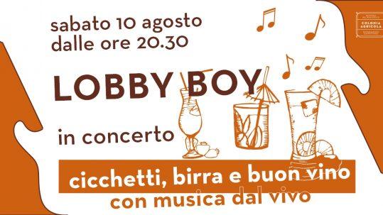 Lobby Boy Copertina