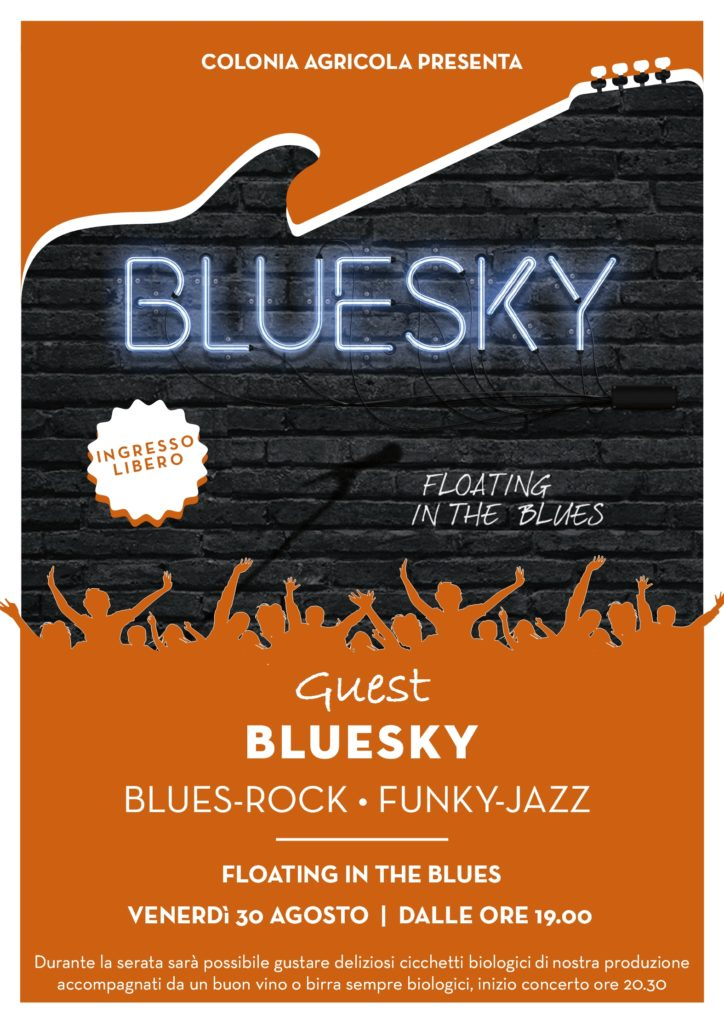 Bluesky in concerto fronte