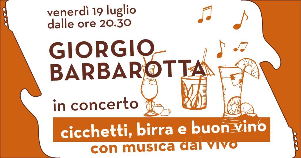 Giorgio Barbarotta concerto
