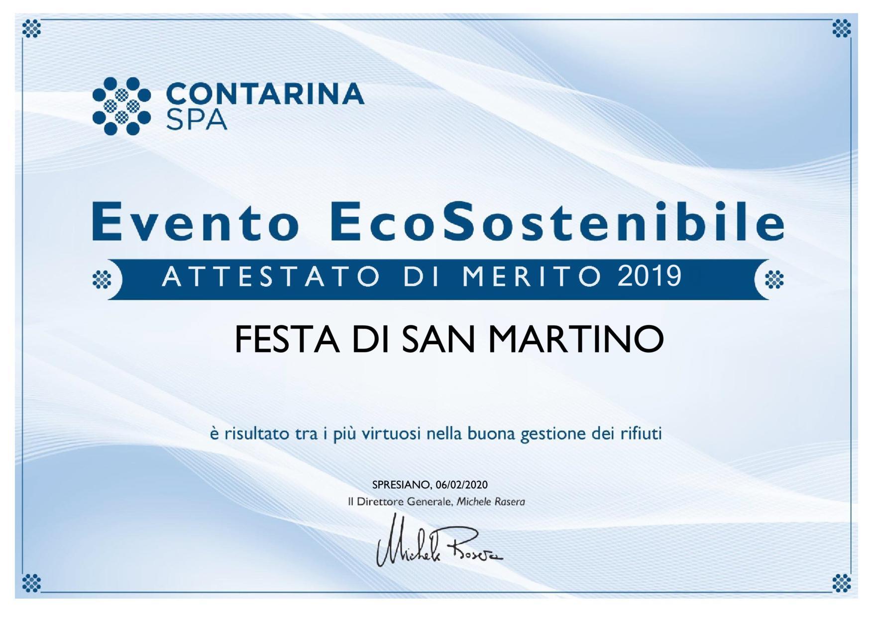 Evento Ecosostenibile